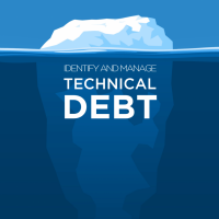 iceberg of technical debt