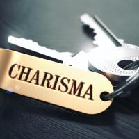 "Set of keys with a keychain that says ""Charisma"""