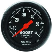 Gauge showing low performance