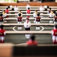 Foosball table photo by Pascal Swier
