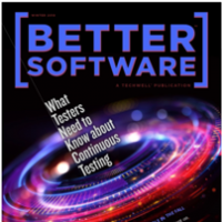 Cover of the first 2018 issue of Better Software magazine