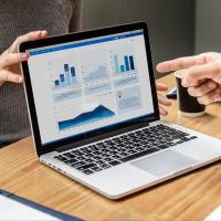 Test engineers analyzing data models