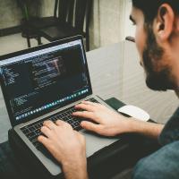 A tester exploring their software