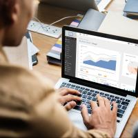 Business analyst performing analysis on a new project domain