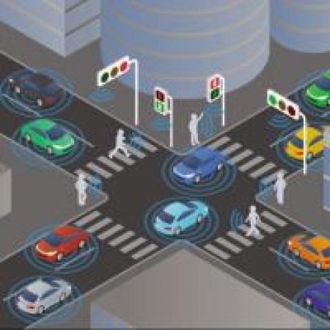 AI traffic light
