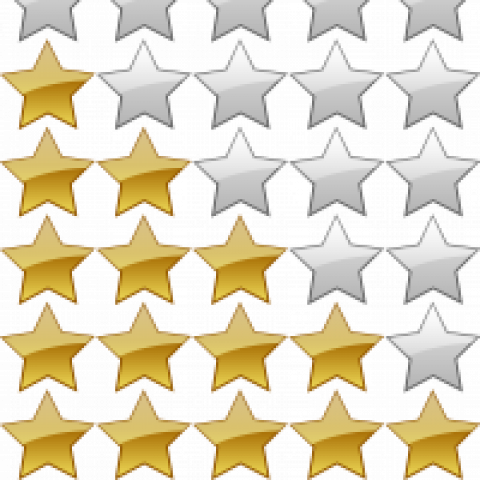 Five-star app rating
