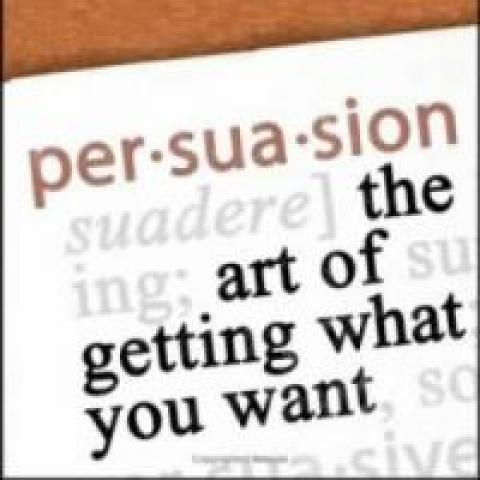 Dictionary definition of persuasion