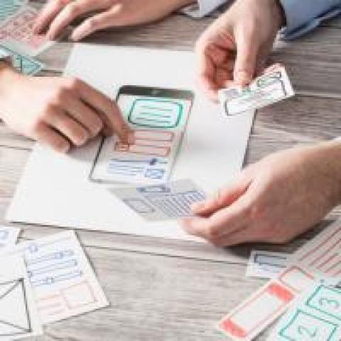 People designing software for good user experience