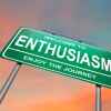 welcome to enthusiasm sign