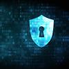 Security lock depicted in code