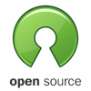 Logo for the Open Source Initiative